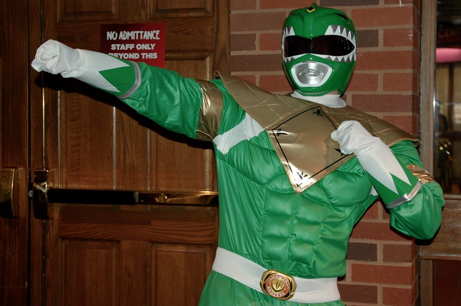 Go Green Power Ranger! - ADRIA YOUNG