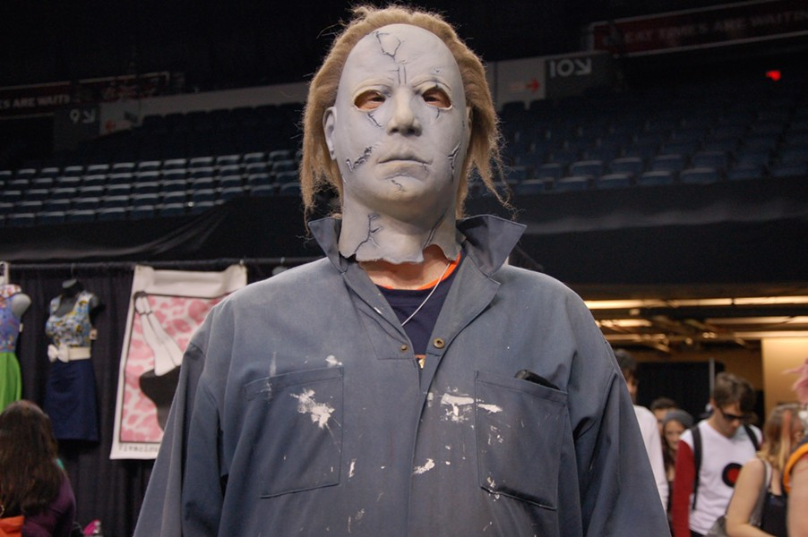 Actually almost pissed myself: Michael Myers, Halloween - ADRIA YOUNG