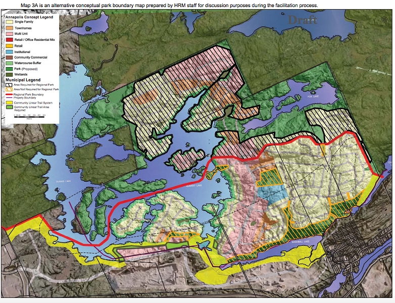 "Here's the ""compromise"" development map 3A - VIA HRM"
