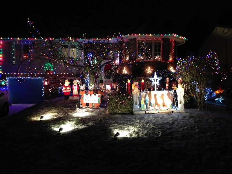 A shining Dartmouth display from last year. - THE COAST