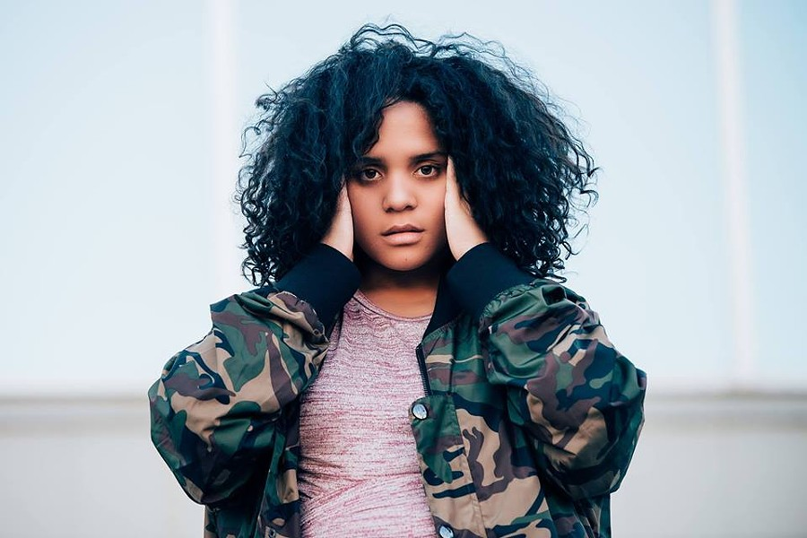 Lido Pimienta, photo via Khyber Centre for the Arts event page - RUTHIE TITUS