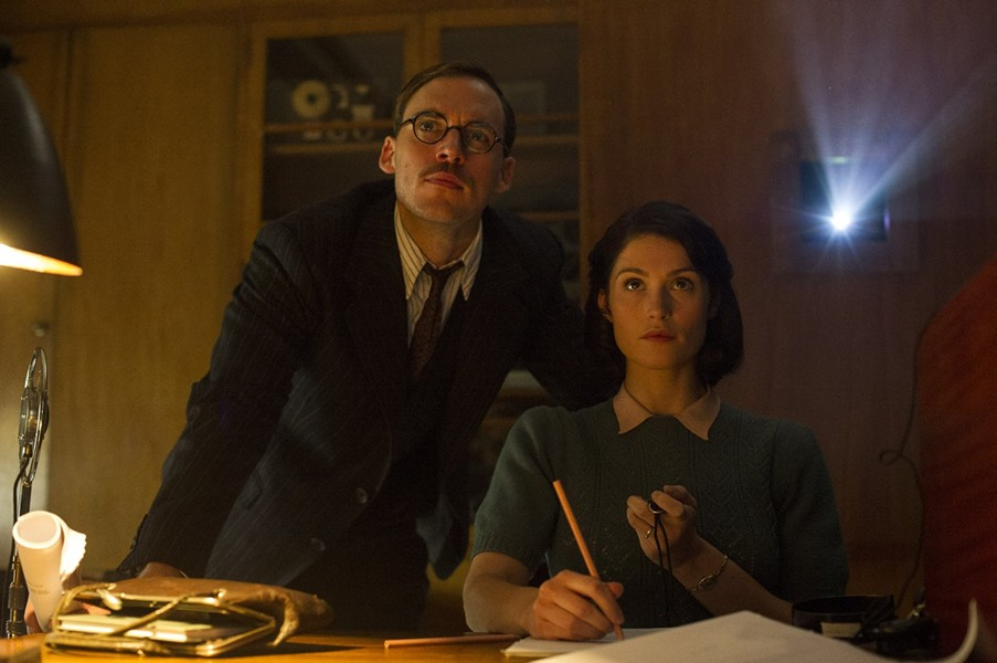 Sam Claflin and Gemma Arterton portray co-writers in the film. - VIA IMDB
