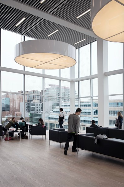 "Halifax Central Library's ""Living Room"" - NXE PHOTOGRAPHY"