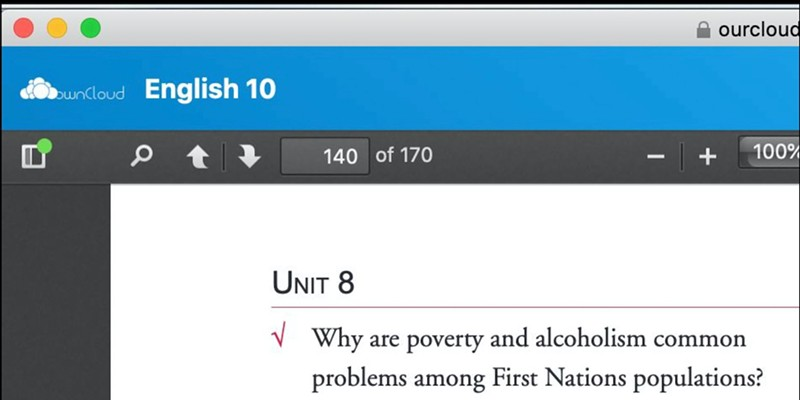 Students are tasked with defending racist stereotypes in Nova Scotian correspondence course. SCREENSHOT