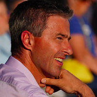 Tim Houston, pictured with a nice tan.