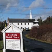 The Beechville Baptist Church on St. Margaret's Bay Road.