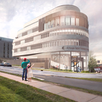 Design mock-up for what the new Friendship Centre could look like.