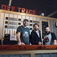 Where I work:  Off Track Brewing