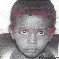 Abdoul Abdi, pictured here as a child and ward of the province.