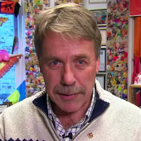 Stoffer, seen in his former Ottawa office in this 2015 sketch from 22 Minutes.