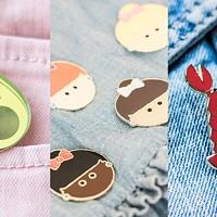 SHOP THIS: Halifax Paper Hearts enamel pins