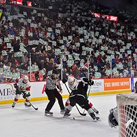 During a nationally televised game, Mooseheads fans sent a message about Halifax's Memorial Cup-hosting readiness.
