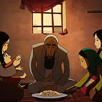A scene from the Oscar-nominated adaptation of Ellis' The Breadwinner.
