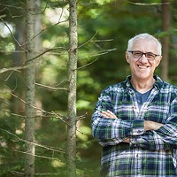 Urban forester John Simmons retires this month after 34 years speaking for the trees.