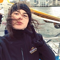 Jessica MacIsaac is a music student—kind of at King's, kind of at Dal. She (shockingly) still loves tourism and helps run a tour company called Halifax Free Walking Tours.