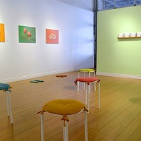 Fall Arts: Emily Lawrence, Scratch & Sniff Menu at The Craig Gallery