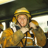 Symington joined the Halifax fire department in 1997.