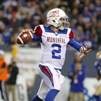 Alouettes' QB Johnny Manziel was placed in concussion protocol last summer.
