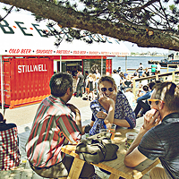 There is no more Stillwell beer garden on the waterfront. We finally know why this month.