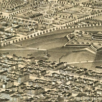 A panoramic map of Halifax from 1879. Several of the city's planning bylaws have been updated since then.