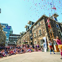 Halifax Buskers Festivals always draws a crowd