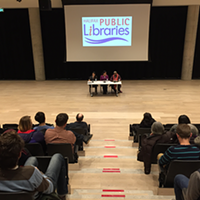 Radical Imagination Project presents at the Halifax Central Library.