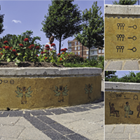 Nelligan's work can be found at the Halifax Common plaza at North Park and Cunard Streets.