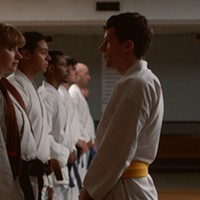 Imogen Poots and Eisenberg connect in Self-Defense.