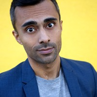 Pardis Parker splits his time between Los Angeles and Halifax, between writing and corresponding on This Hour Has 22 Minutes and between making you think and making you laugh-cry.