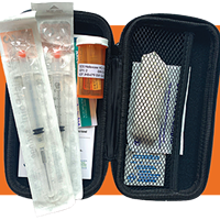A take-home Naloxone kit.