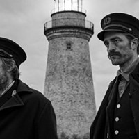 Willem Dafoe and Robert Pattinson stare into the abyss in The Lighthouse.