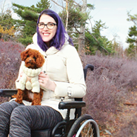 "Abby Surrette says people with disabilities are expected to ""hermit away,"" but the reality is they live vibrant social lives."