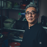 """It's a story,"" says Shigeru Fukuyama of his customers who become friends."