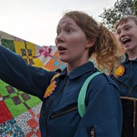 This weekend, as part of the Halifax Fringe Festival, A Tale on Two Wheels will bring whimsy and live performance to a handful of HRM green spaces.