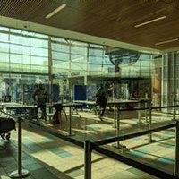 NS has set up a mini customs centre near the baggage claim at Halifax Stanfield International Airport for travellers arriving from outside the Atlantic bubble.