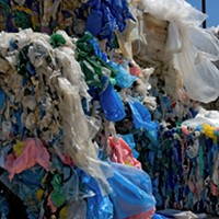 Plastic accounts for 21 percent of the waste in Nova Scotia's landfills.