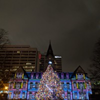 Council is still meeting virtually, but you can enjoy an outdoor holiday light show every day until 2021 at City Hall.
