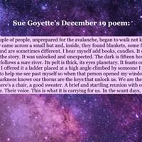 An advent calendar of poetry: December 19