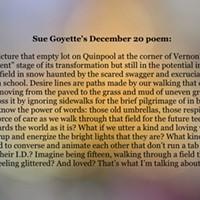 An advent calendar of poetry: December 20