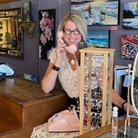 Cathy Hope is the owner and operator of Lady Luck Boutique in the Hydrostone.