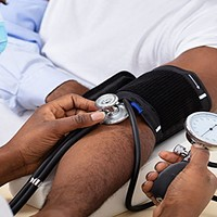In the US, we know that 41 percent of Black people have high blood pressure, compared to just 27 percent of white folks. STOCK