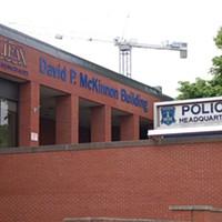 Halifax Regional Police headquarters on Gottingen Street.