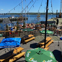Better late than never, patio season is here. THE COAST