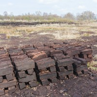 """Peat """"carbon bombs"""" extracted from bogs in the Netherlands. STOCK"""