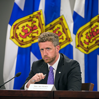 Premier Rankin said the charges he faced for drunk driving in 2003 and 2005 are well known in his Timberlea hometown. COMMUNICATIONS NOVA SCOTIA