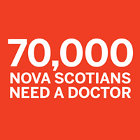 Nearly 70,000 Nova Scotians need a doctor