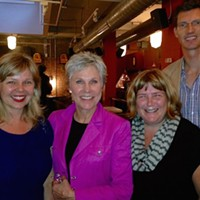 Anne Murray—Canada's Barbra Streisand, the east coast's Joni Mitchell, one of the first inductees to the Casino Nova Scotia Music Hall of Fame—with her close personal friends from The Coast.