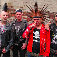 The Casualties, featuring Jorge Herrera (centre right)