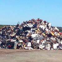 The landfill near to Lincolnville, NS.