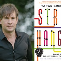 Taras Grescoe will be speaking about public transit at the University of King's College on Thursday, August 6. Straphanger:Saving Our Cities and Ourselves from the Automobile is available now from HarperCollins.